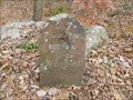 Image for Franklin Mile Marker - 67 Miles From Boston 30 to Springfield - 1767 Milestones - West Brookfield, MA[