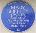 Image for Mary Shelley - Chester Square, London, UK