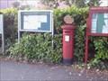 Image for Victorian Post Box at Three Legged Cross, Dorset. UK