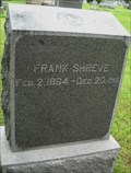 Image for Frank Shreve - Evergreen Cemetery - Fort Scott, Ks.