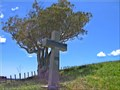Image for Mahoetahi memorial cross, Bell Block-Waitara, New Zealand