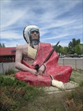 Image for Indian Chief with Peace Pipe - Roosevelt, Utah