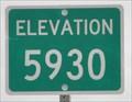 Image for US Highway 89 ~ Elevation 5930 Feet