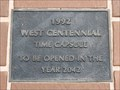 Image for Centennial Time Capsule - West, TX