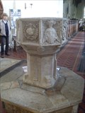 Image for Font, Church of St Mary the Virgin, Earl Stonham, Suffolk. IP14 5EE.