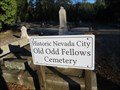 Image for Old Odd Fellows Cemetery - Nevada City, CA