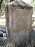 Image for CCC Grave Marker – Chiricahua Mtns, AZ
