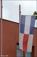 Image for Prague - Kolovraty municipal flag / Obecní vlajka Prahy - Kolovrat