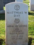 Image for Matthias W. Day - San Francisco National Cemetery