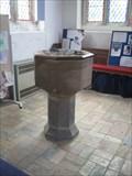 Image for Font - St Mary Magdelene Church - Hilton, Huntingdonshire