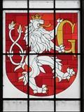 Image for Erb vitraz / Stained Glass CoA, Hradec Kralove, CZ