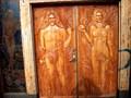 Image for Carved Wooden Door - Eden - Hveragerði , Iceland