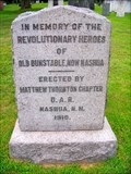 Image for Revolutionary War Monument - Nashua NH