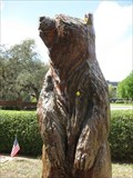 Image for Bear, with flower - Sylvan Abbey - Clearwater, FL