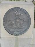 Image for National Pony Express Centennial Association Trail Marker - Folsom, CA