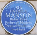 Image for Sir Patrick Manson - Welbeck Street, London, UK