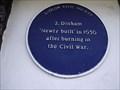 Image for Blue Plaque - 2, Dinham, Ludlow UK