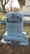 Image for Houston Hotel Fire Memorial - Linkville Pioneer Cemetery - Klamath Falls, OR