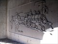 Image for Utah Train and Horses Pedestrian Tunnel Relief Art  -  Bluffdale, UT