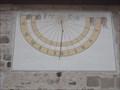 Image for Sundial Church Kiebingen, Germany, BW