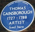 Image for Thomas Gainsborough - Pall Mall, London, UK