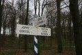 Image for Old ANWB road sign in Openluchtmuseum Arnhem