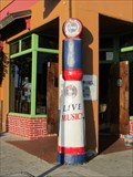 Image for Fuel Dock Saloon Gas Pump, Morro Bay CA