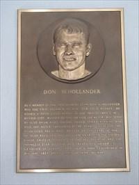 Don Schollander plaque, International Swim Center HOF, Santa Clara, California