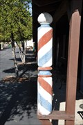 Image for Replica Wooden Barber  ~ Heritage Park - Oceanside, California