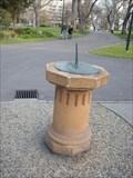 Image for Flagstaff Gardens Sundial,  Melbourne, Vic, Australia