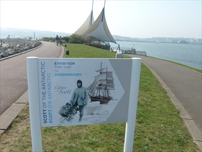 Scott of the Antartic - Cardiff Bay - Wales.