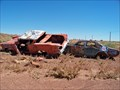 Image for Old US-66 Cars - West of Winslow, Arizona
