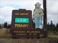 Image for Smokey Bear - Northern Lakes Fire - Rathdrum, ID