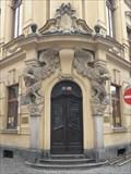 Image for Neobaroque portal, Hradec Kralove, Czech republic