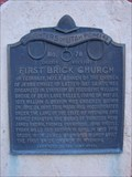 Image for First Brick Church
