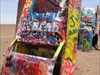 veritas vita visited Cadillac Ranch