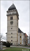 Image for Vež pri kostele Sv. Vavrince / Tower at Church of St. Lawrence (Dacice - South Bohemia)