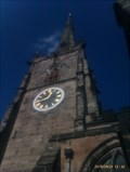 Image for Intersected Station, St Wystan church spire - Repton, Derbyshire