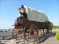 Image for Lincoln on a Covered Wagon - Lincoln, IL