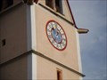 Image for Uhr Pfarrkirche St. Gertraudi - Tyrol, Austria