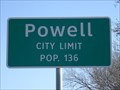 Image for Powell, TX - Population 136
