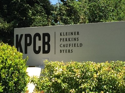 KPCB Sign out Front, Menlo Park, California