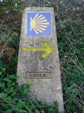 Image for Way Marker 6,489km - Os Moíños, Spain