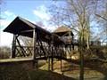 Image for Drevena lavka v Parku Potocni - Plzen, CZ, EU