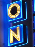 Image for Googie Cinema Neon - Celebration, Florida, USA.