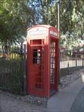 Image for Red Telephone Box - Lake Havasu City, Arizona