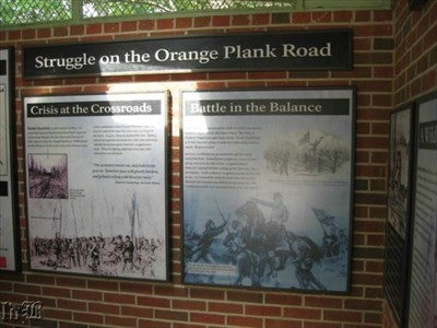 The fighting at the Wilderness culminated at the Brock Rd. & Orange Plank Rd. intersection, before Grant ordered his men south.
