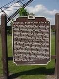 Image for Cornell Pulpwood Stacker Historical Marker