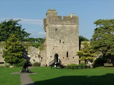 Caldicot Castle - Fortress - Newport, Wales.