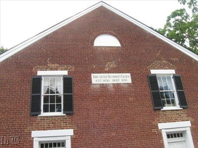 Confederate signalmen kept look-out on the Battle at Spotsylvania Court House from the 2nd story windows of the church.